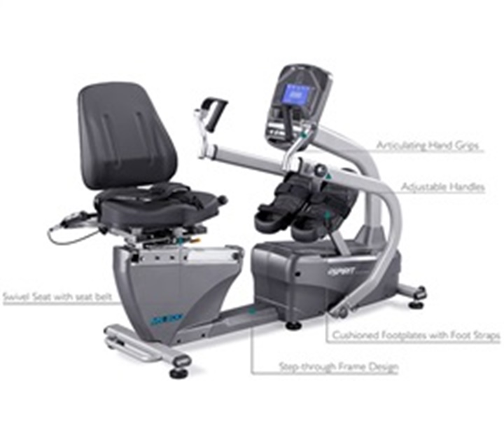 Spirit MS300 Recumbent Stepper